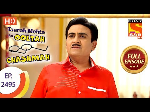 Taarak Mehta Ka Ooltah Chashmah – Ep 2495 – Full Episode – 22nd June, 2018