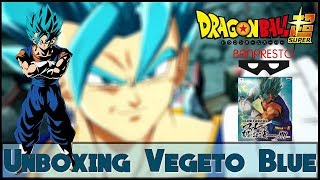 Unboxing #4 Vegeto Blue Final Kamehameha Banpresto