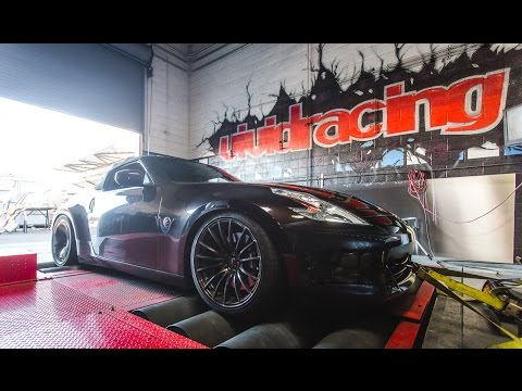 370z VRTuned Dyno run with PPE Headers and Stillen Exhaust