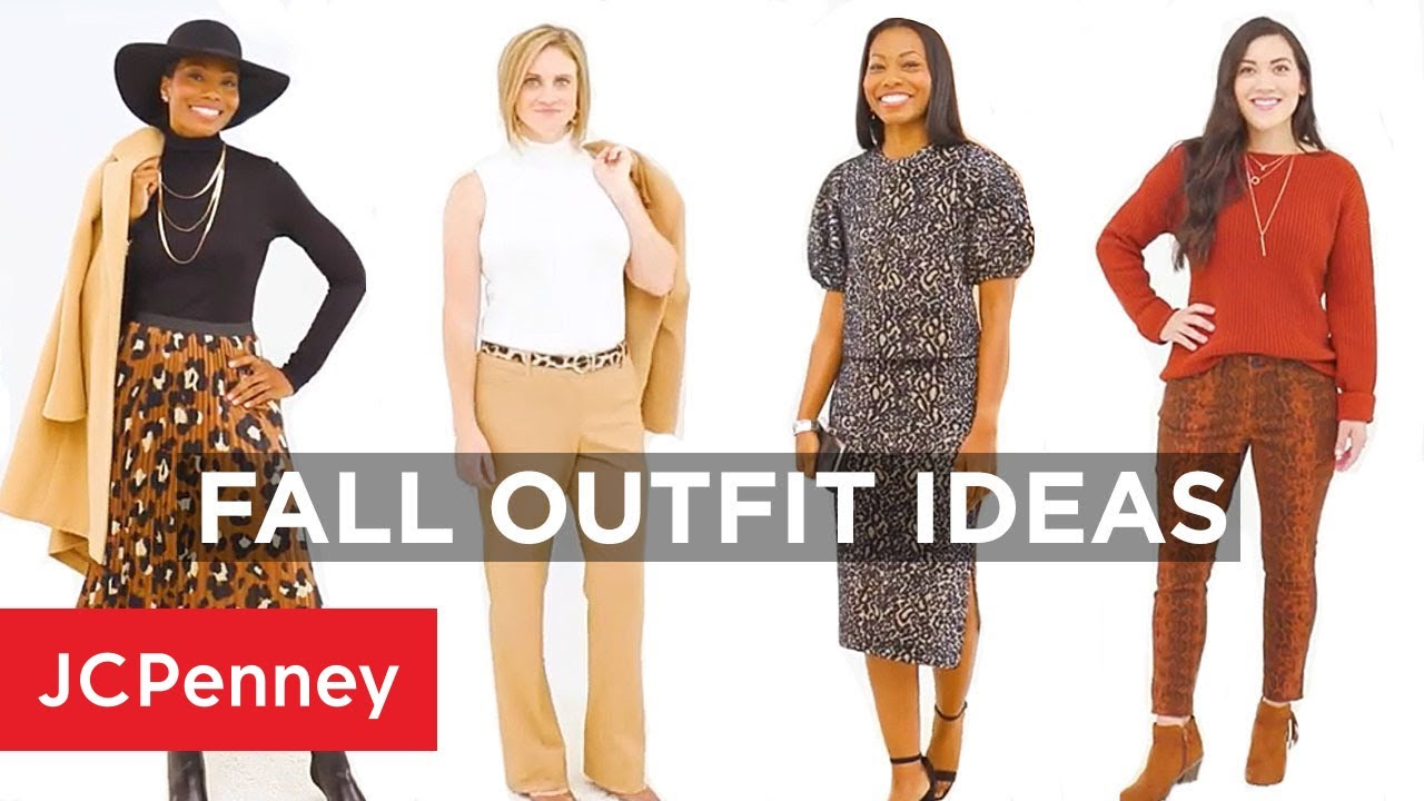 [VIDEO] - Fall Outfit Ideas for Women | JCPenney 2
