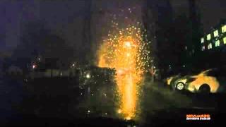 Авария, оставившая пол-Воронежа без света(Грузовик, снёсший опору ЛЭП, оставил без электричество треть миллионного города., 2015-12-23T11:53:10.000Z)