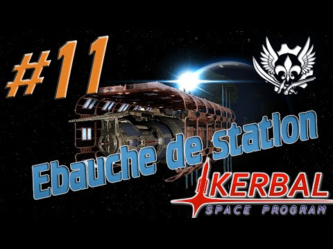 Kerbal Space Program - Ep.11 : Ebauche de station Munaire