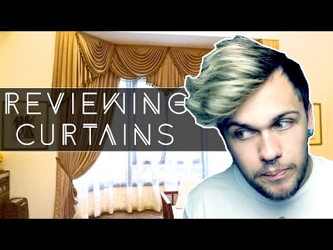 REVIEWING CURTAINS!
