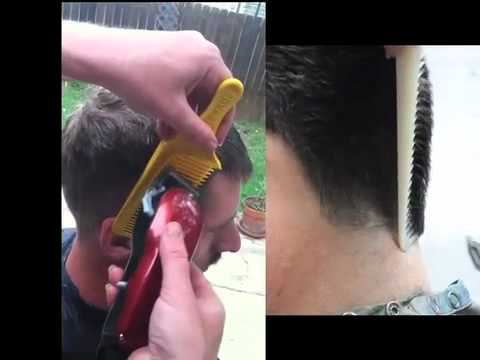 how to cut men s hair with clippers and the fade b youtube