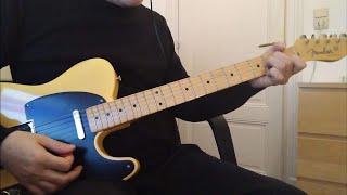 Pixies - Long Rider chords (rythm guitar play along)