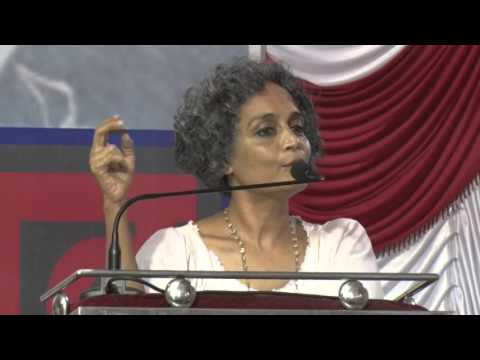 Arundhati Roy speaks on  Rohith Vemula Jan Pratirodh Rally in Mumbai