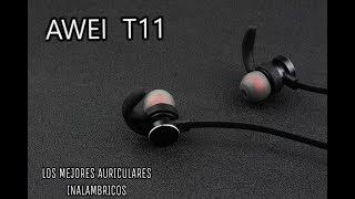 El mejor auricular deportivo económico - AWEI T11 unboxing ... e9c57a1c64