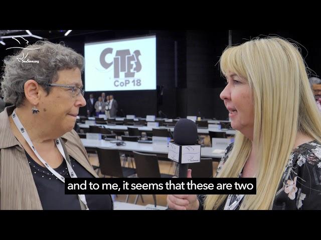 Interview: Susan Lieberman at CITES CoP18