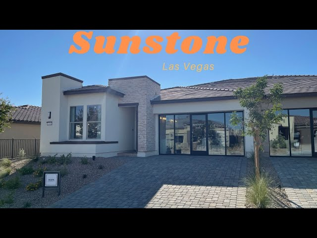 New Homes For Sale Las Vegas | Trilogy at Sunstone | Modern Single Story $397k+, 1,678sf