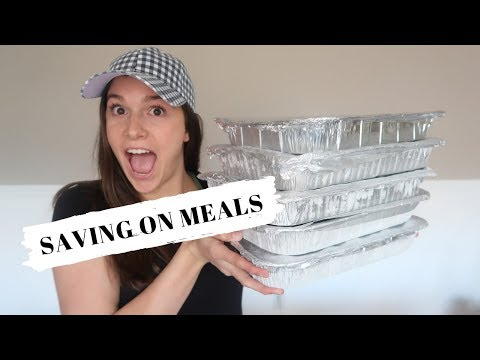 14 MEALS FOR $100 or LESS: FREEZER MEALS: ALDI MEALS: SAVING ON MEALS