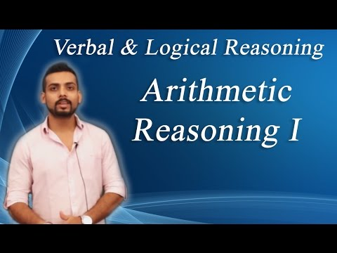 How to solve  Arithmetic Reasoning Problems Non Verbal Reasoning-I : ( IBPS, GRE, GMAT, CAT,BANK PO)