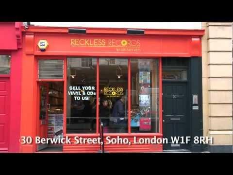 Reckless Records 30 Berwick Street, Soho, London W1F 8RH