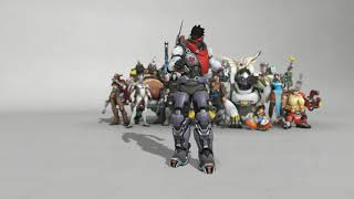 All New Dance Emotes | Overwatch Anniversary 2019 Event