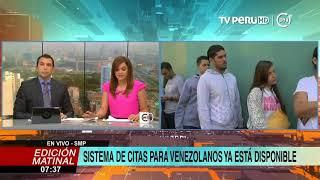 Interpol: 6 mil venezolanos han accedido a las citas en línea para solicitar PTP