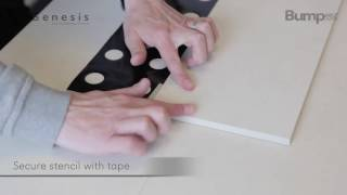 Self Adhesive Tactiles - How to install HD
