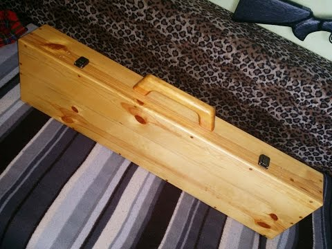 Wooden briefcase for Sniper Rifle