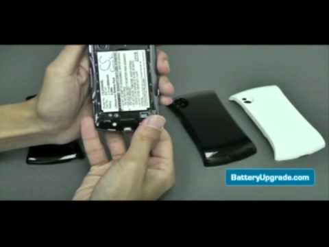 Sony Ericsson Xperia Play Extended Battery Replacement