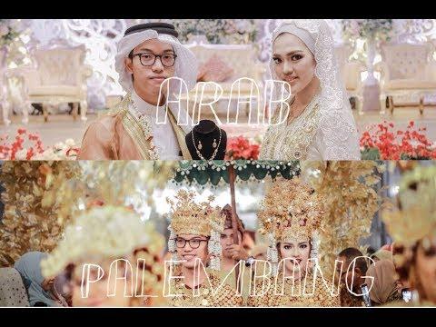 OUR ARAB INDONESIAN MULTICULTURAL WEDDING  | PERNIKAHAN ADAT ARAB DAN PALEMBANG (ENG SUB)