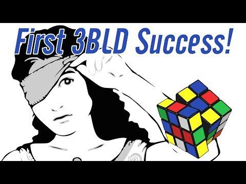 1st Ever 3-BLD Success