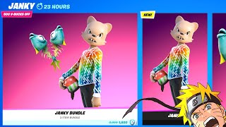 Fortnite Item Shop Today - JANKY ITEM SHOP - NO NARTUO YET (September 17 2021)