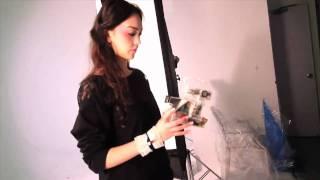 Jessica C. 的 CG! Issue 106封面拍攝花絮