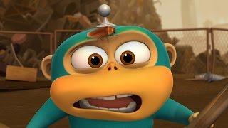 Обезьянки из космоса (Alien Monkeys) - Таракан (21 серия)
