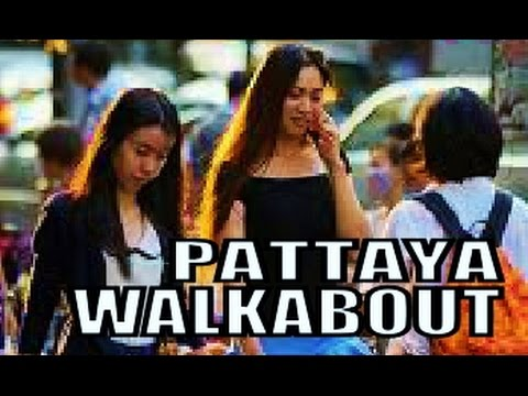 Pattaya walkabout Second Road Thailand.