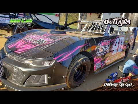 #48 Kevin Whaley - Street Stock - 3-22-19 Duck River Raceway Park - In Car Camera