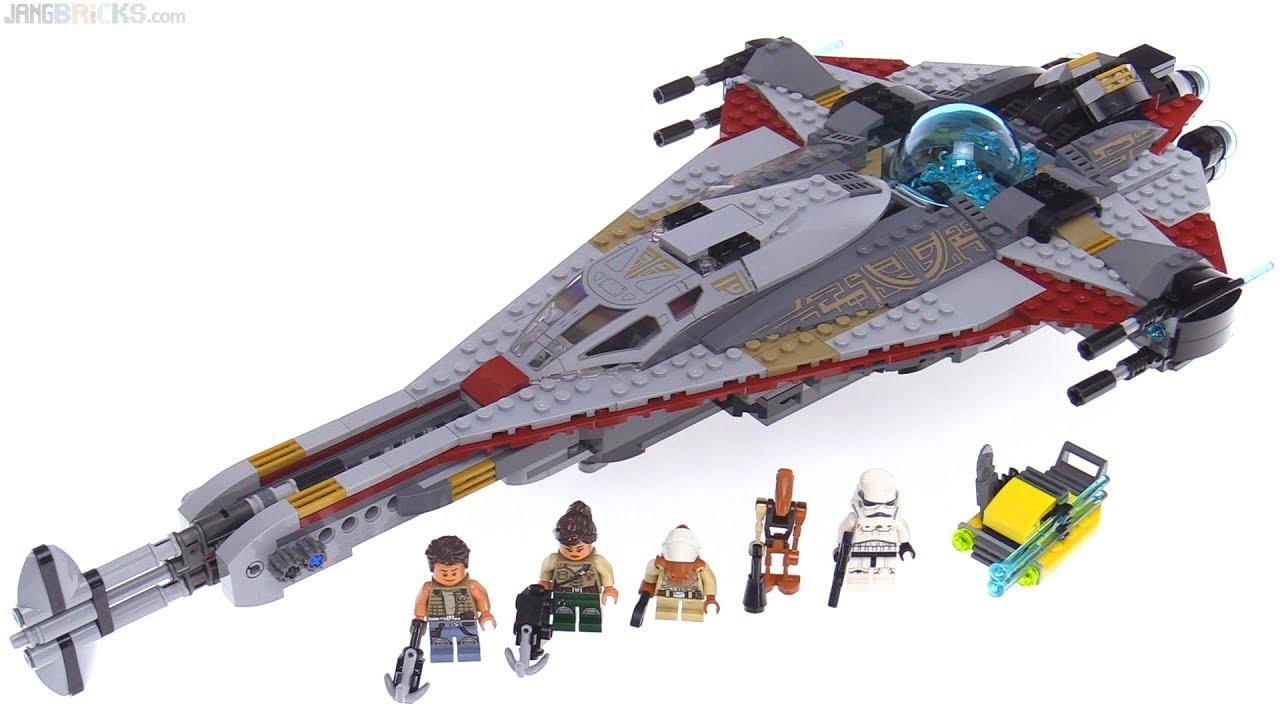 LEGO Star Wars  The Arrowhead set review! 75186 - YouTube e701f79400