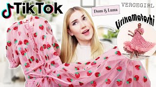 Testing POPULAR TikTok Clothing Brands !! *is it worth the hype?*
