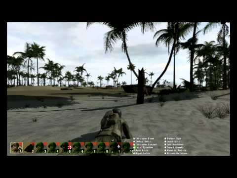 "ArmA 2 Hell in the Pacific ""First Impression: Tarawa"" SP 11/30/12"