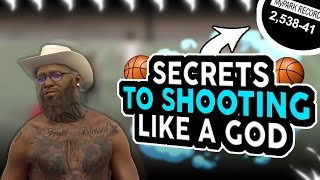 NBA 2K17 TURN YOUR PLAYMAKER INTO A SHARPSHOOTER GLITCH!| SHOOTING SECRETS/BEST JUMPSHOT PATCH 11!