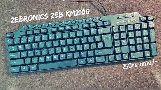 Zebronics Zeb KM2100 Keyboard || budget king ||