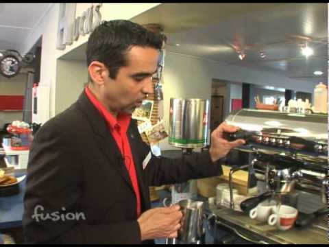 Making a Cappuccino