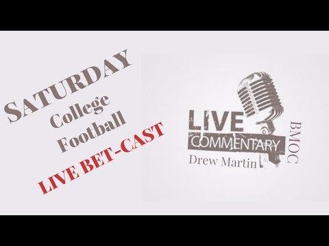 Georgia vs Auburn LIVE Betcast In-Game Betting Commentary | UM vs Clemson