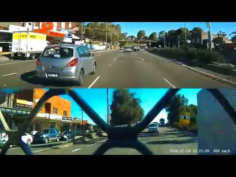 2016-07-28 Cement Australia truck driving eratically (South Sydney, NSW) (T55 / S67549)