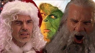 8 новогодних фильмов 2000-х. Санта-киллер, Семьянин, Пережить Рождество, Гринч