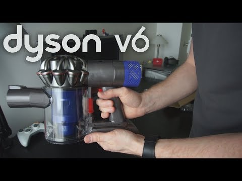Le Dyson V6 Fluffy: l'aspirateur sans fil !