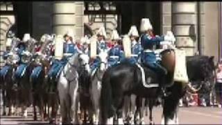 Sveriges Nationaldag 6e Juni 2007 med Svea Livgardet converted
