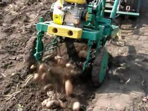 картофелекопалка самодельная