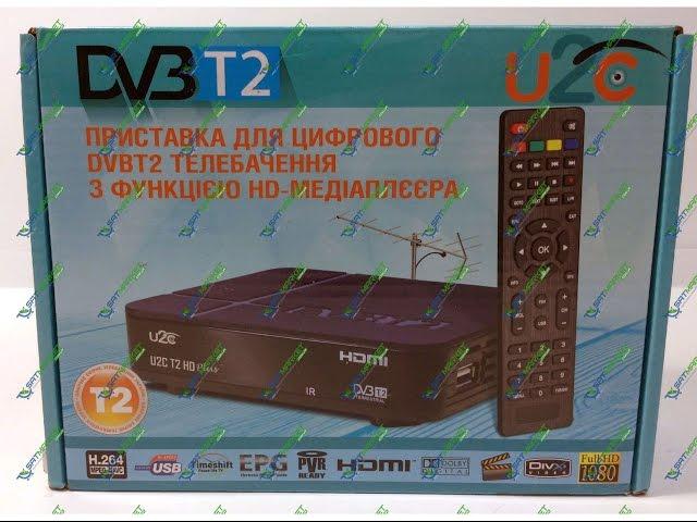 Видео обзор U2C T2 HD Plus