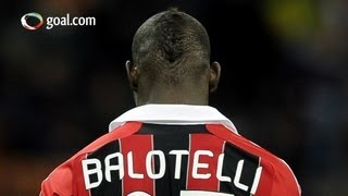 Balotelli in AC Milan racism row