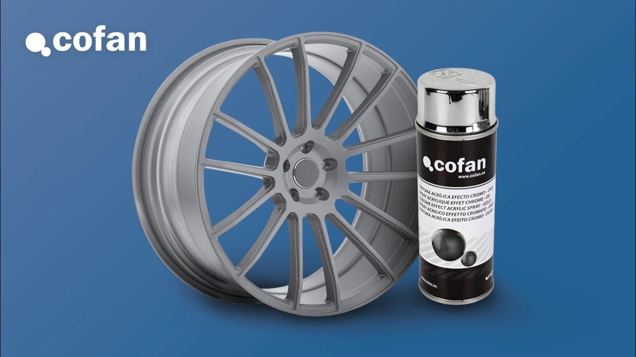 Pintura cromo plata spray cofan youtube - Pintura para aluminio en spray ...