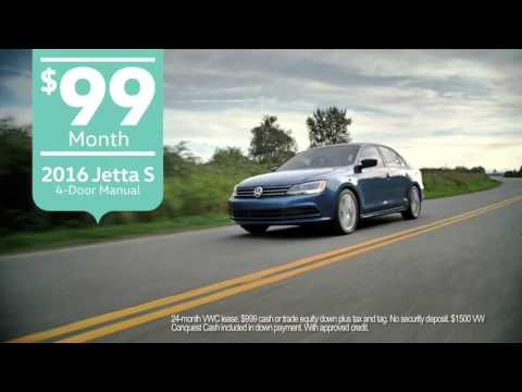 2016 Volkswagen Jetta For Sale in Myrtle Beach - Only $99mo!