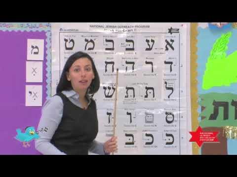 Twebrew School Hebrew Lessons 5 & 6
