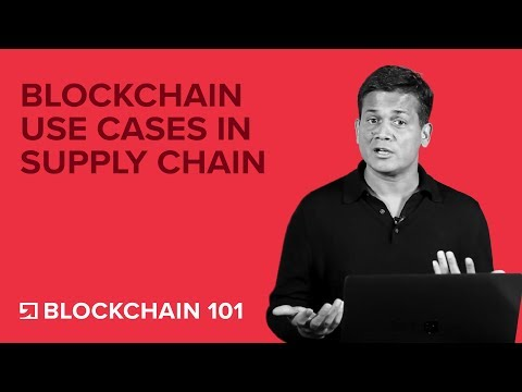 Blockchain Use Cases in Supply Chain - Blockchain Technology 101