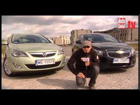 Opel Astra Vs Chevrolet Cruze Czy Ucze Przers Mistrza