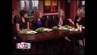 Healthy Meals for the New Year (1/2/13 on KSTP's Twin Cities Live)