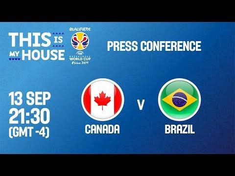 Canada v Brazil - Press Conference
