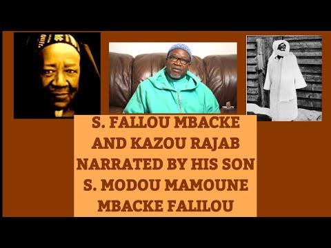 S  FALLOU/KAZOU RAJAB BY HIS SON S  MODOU MAMOUNE MBACKE FALILOU